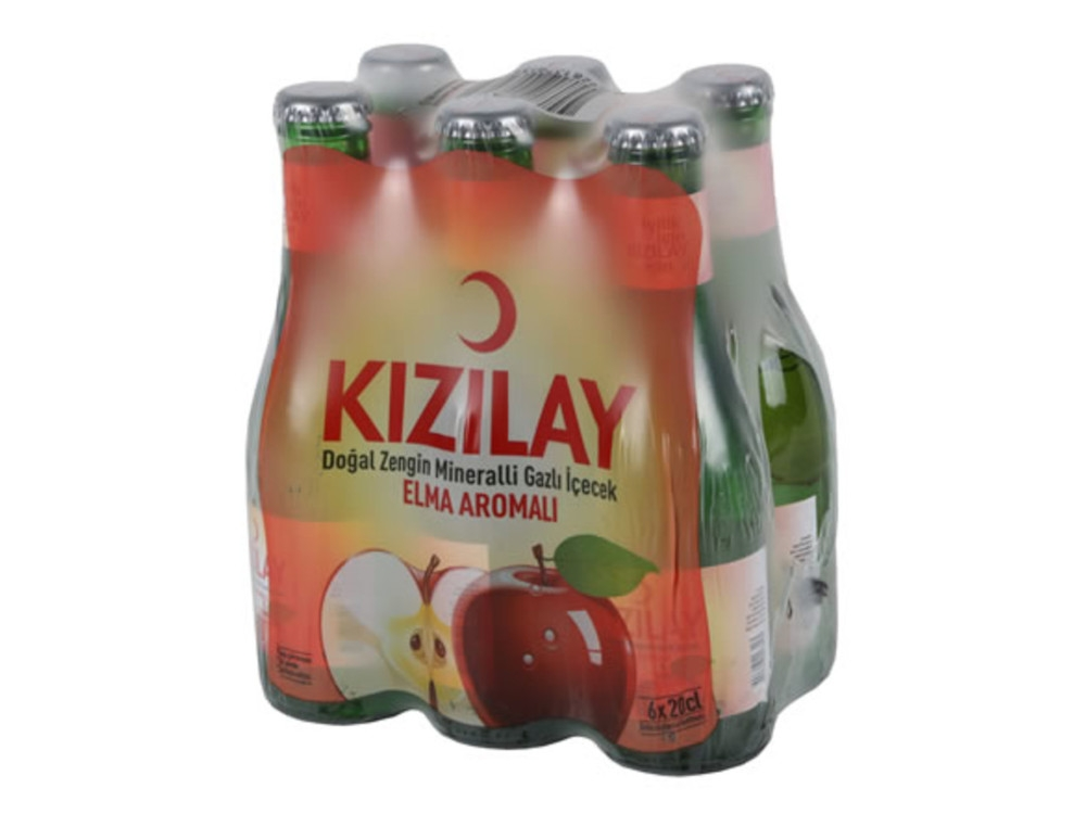 Kızılay Elma Aromalı Doğal Maden Suyu (24 adet)